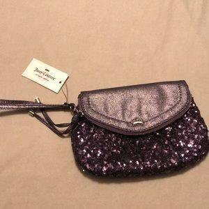 Juicy Couture Purple Clutch